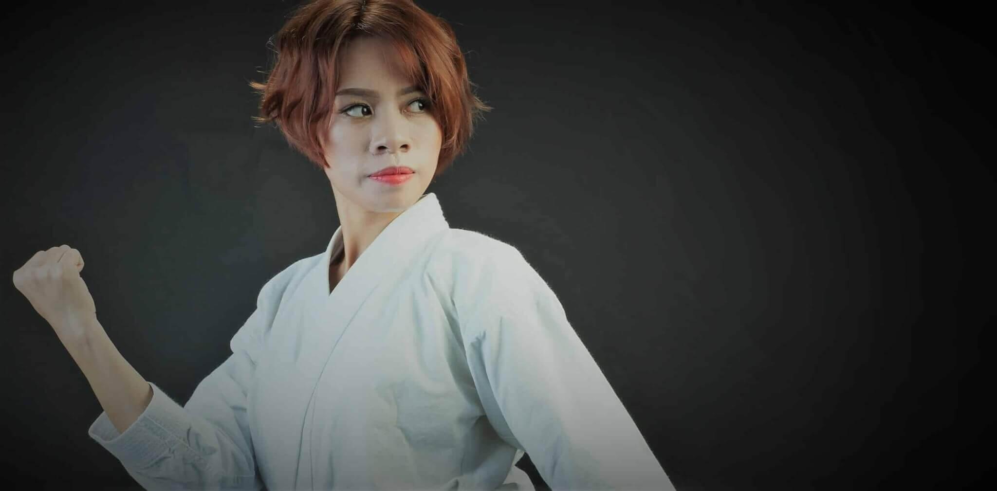 karate dame