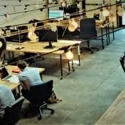 kantoor met pensioen deelnemers
