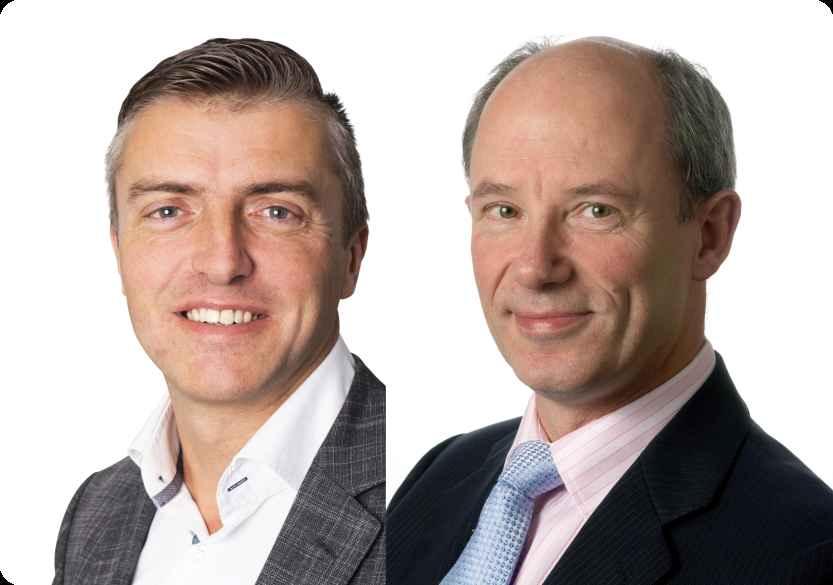 Portret Jeroen Los en Jeroen Tuijp